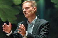 Swedbank styrelseordförande Göran Persson och vd:n Jens Henriksson