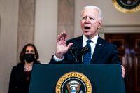 """""""Det var ett mord i fullt dagsljus"""", säger Joe Biden."""