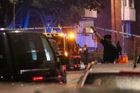 Minst två skottlossningar har ägt rum i Nacka på söndagskvällen.