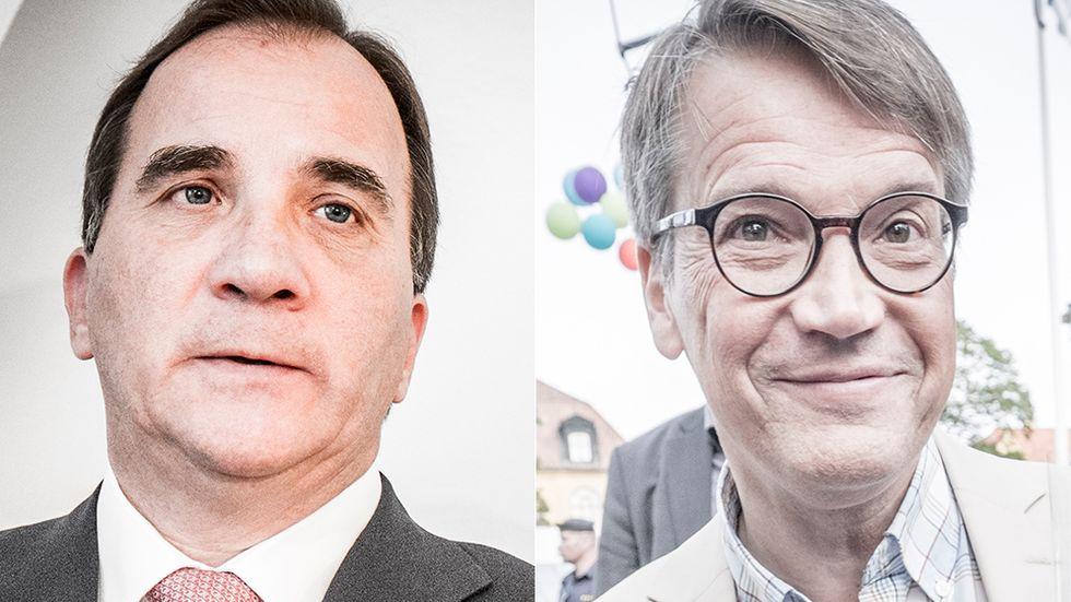 Stefan Löfven (S) och Göran Hägglund (KD) sommartalade på söndagen.
