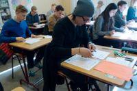 Förslag om ökad kontroll vid högskoleprov kritiseras av JO med flera. Arkivbild
