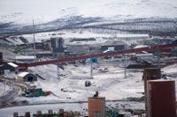 Delar av LKAB:s gruva i Kiruna.