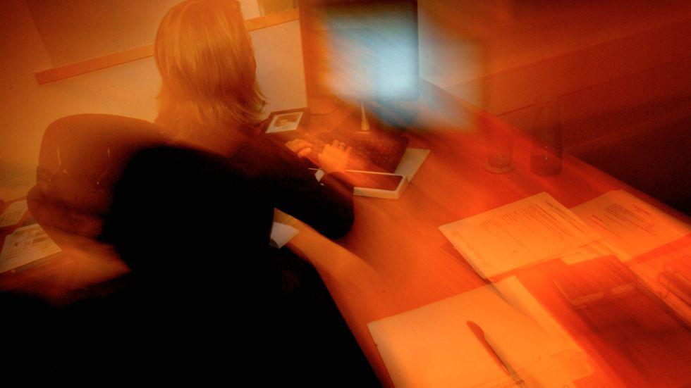Var fjärde svensk upplever att arbetsgivaren inte gör något alls för att de anställda ska må bra. Arkivbild.