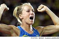 Snart är Kajsa Bergqvist även över 2,10. Det tror i alla fall världsrekordhållaren utomhus, Stefka Kostadinova.