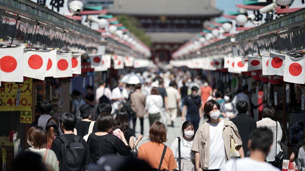 Japanska industrin tappar fart. Arkivbild.