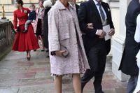 Prinsessan Madeleine och hennes make Chris O'Neill vid prins Gabriels dop. Arkivbild.