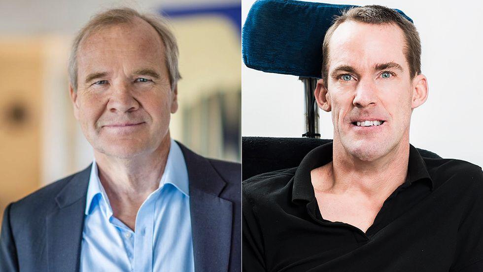 Anders Lago och Markus Petersson, Riksförbundet FUB.