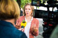 Miljöminister Karolina Skog (MP) står för den tuffare linjen inom EU vad gäller framtida bilutsläpp. Arkivfoto.