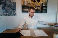 Peter Hagel har bytt telefonnummer för att inte bli kontaktad av Global Corporate Services.