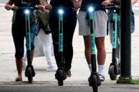 150 olyckor med elsparkcyklar har inrapporterats under årets åtta första månader.