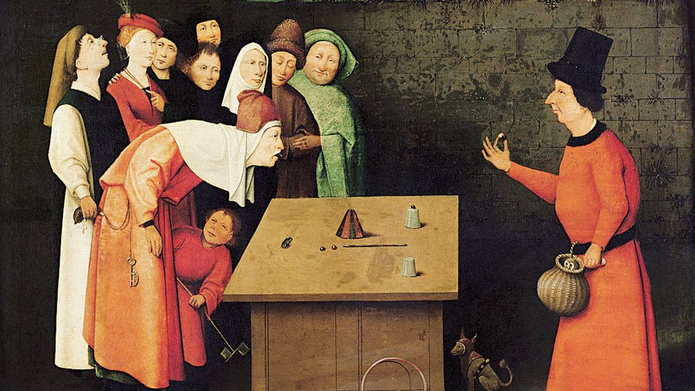 The Conjurer av Hieronymous Bosch.