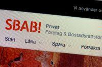 SBAB ökade sin marknadsandel av nyutlåningen för bolån med 17 procent under 2018. Arkivbild.
