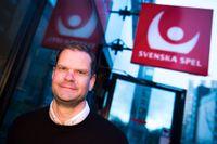 Patrik Hofbauer, vd på Svenska Spel, anser att regeringen föreslår fel åtgärder. Arkivbild.
