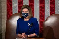 Representanthusets talman, demokraten Nancy Pelosi. Arkivbild.