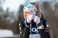 Linn Svahn siktar högt i Svenska skidspelen i Falun.