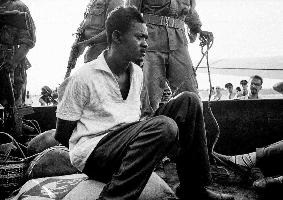 Den självständiga republiken Kongos förste premiärminister Patrice Lumumba avrättades brutalt 1961.