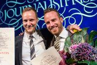 Bo Göran Bodinoch Daniel Öhman från SR Ekot prisades för sitt avslöjande om saudiaffären och har nu kommit ut om med en bok.