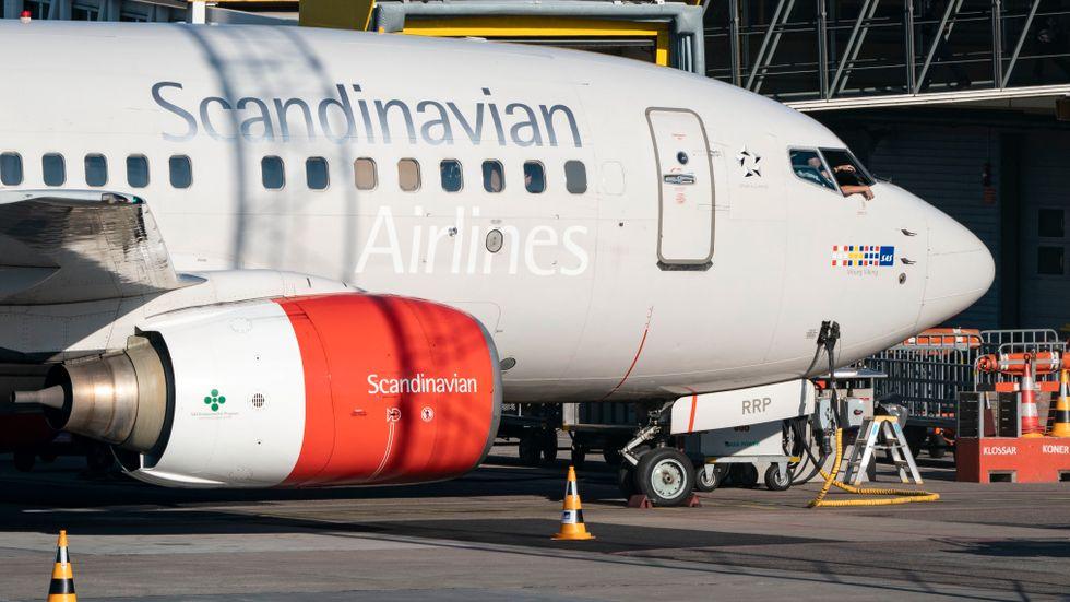 SAS-piloter ut i strejk efter strandade förhandlingar. Arkivbild