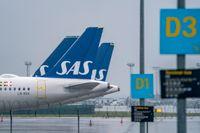 Den danska och svenska staten är överens om att stödja flygbolaget SAS. Arkivbild.