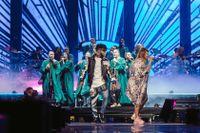 """""""Avicii tribute"""" på Friends Arena."""