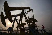 Ett oljefält i kiniska Panjin.