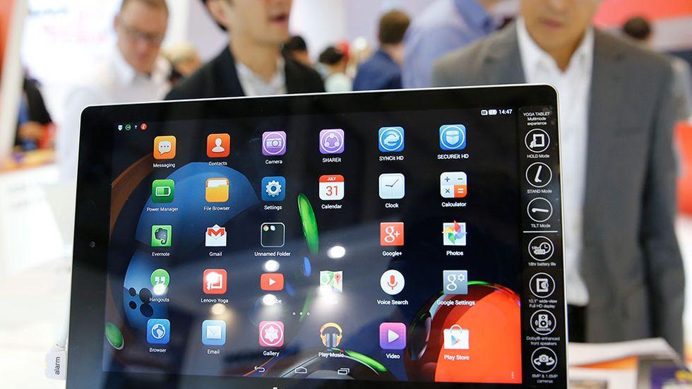 Lenovos Yoga Tablet 10 HD.