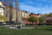 Övergreppet genomfördes vid Nytorget i Stockholm i november 2018, enligt åtalet.