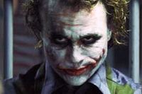 """Heath Ledger i en av sina sista roller, som Jokern i """"Batman – The Dark Knight""""."""