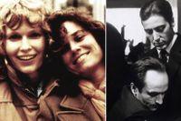 """""""Systrarna"""" Mia Farrow och Barbara Hershey, samt """"bröderna"""" John Cazale och Al Pacino."""