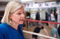 Finansminister Magdalena Andersson. Arkivfoto.