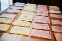 SD-valsedlar kommer att saknas på flera ställen i Skåne under kyrkovalet. Arkivbild.