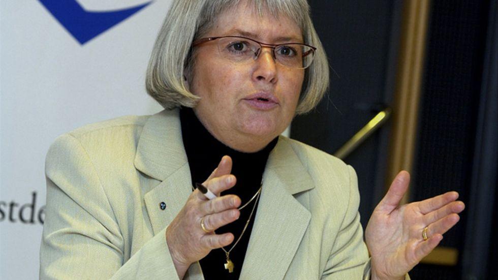 Annelie Enochson, riksdagsledamot för Kristdemokraterna.
