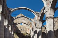 Har religionen spelat ut sin roll? Sankta Katarinas kyrkoruin i Visby.