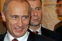 Vladimir Putin, rysk premiärminister.