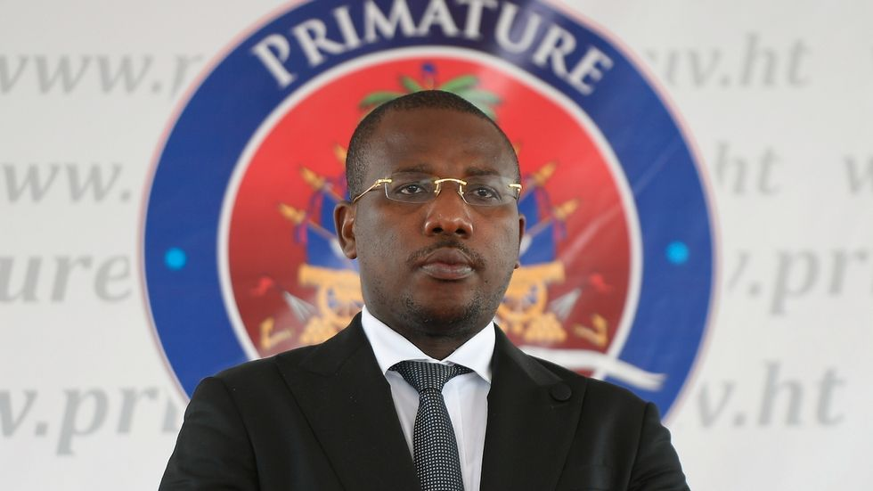 Haitis utrikesminister Claude Joseph. Arkivbild.