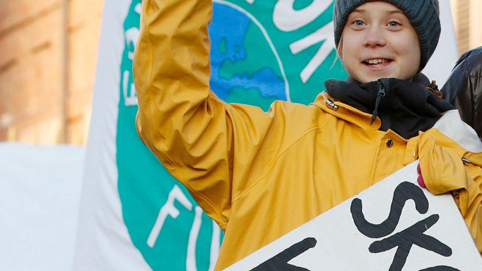 Greta Thunberg vill skydda sitt namn.