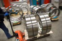 Tillverkning av lager vid SKF:s fabrik i Göteborg. Arkivbild.