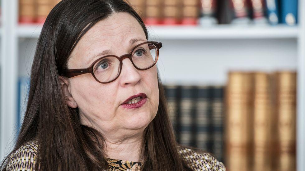Anna Ekström, utbildningsminister.