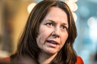 Klimatminister Åsa Romson.