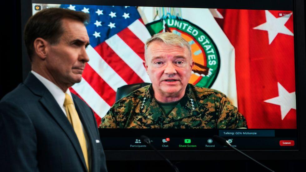 General Frank McKenzie erkände under fredagen att det var oskyldiga som dödades i samband med drönarattacken i Afghanistan.