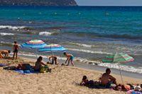 Mallorca i Spanien. Arkivbild.
