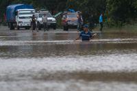 Nicaragua drabbades hårt av ovädret Eta med stora översvämningar och minst 18 dödsfall.