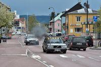 Bilar som åker runt i byar och städer och spelar hög musik håller folk vakna om nätterna. Bilden är tagen i Älvdalen i Dalarna. Arkivbild.
