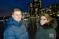 Lars Sandberg och Aida Dzafic.