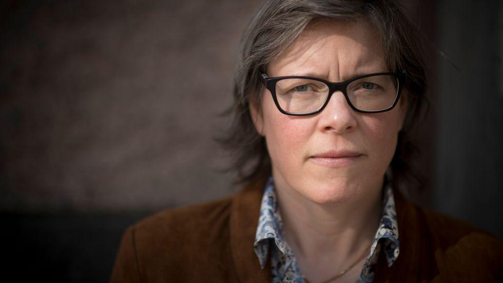 """Lena Andersson. Bokaktuell med """"Om falsk och äkta liberalism"""" (Liberal Debatt)."""