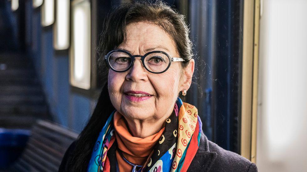 """""""De stora, heroiska insatserna görs av undersköterskorna och de som vårdar demensdrabbade hemma"""", säger forskaren och författaren Margareta Skog."""