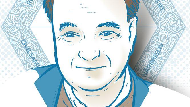 Bo Rothstein, professor i statsvetenskap vid Göteborgs universitet, skriver på en bok om hur man kan minska korruptionen i världen. Illustration: Thomas Molén