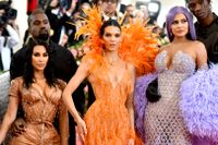 Kardashian-familjen på Met-galan.