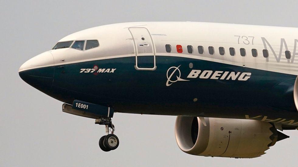 Boeing väntas pressas av flygleasingaffär. Arkivbild.
