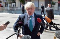 Boris Johnson tillträdde som Storbritanniens utrikesminister den 13 juli.